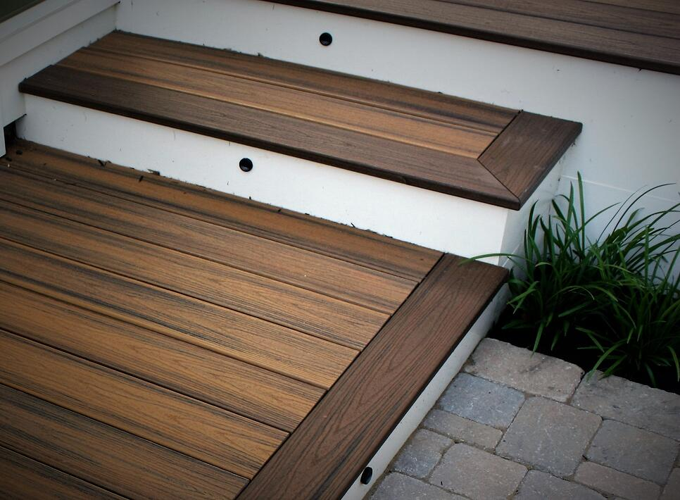 Framing Deck Board Width ~ Decking comparison trex deck boards vs wood