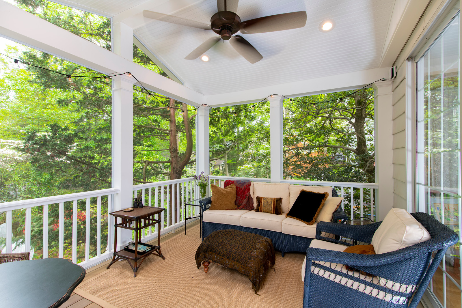 chevy chase 2 story deck screened porch 7