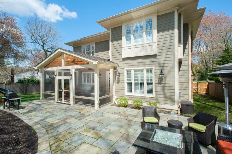 outdoor screened porch in maryland