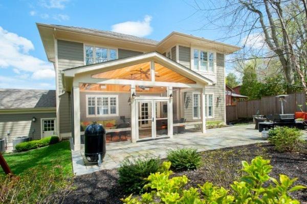 outswing porch doors windowed