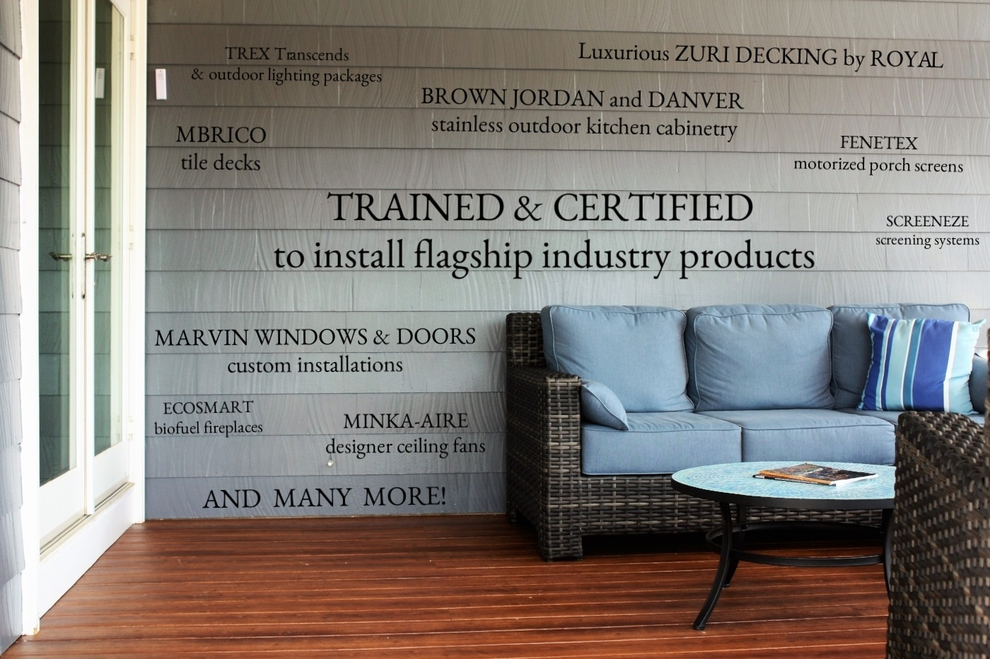 Design Builders Trained And Certified With Industry