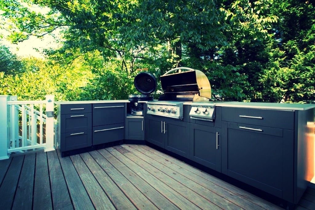 Outdoor Kitchens 4 Popular Outdoor Cabinet Material Options