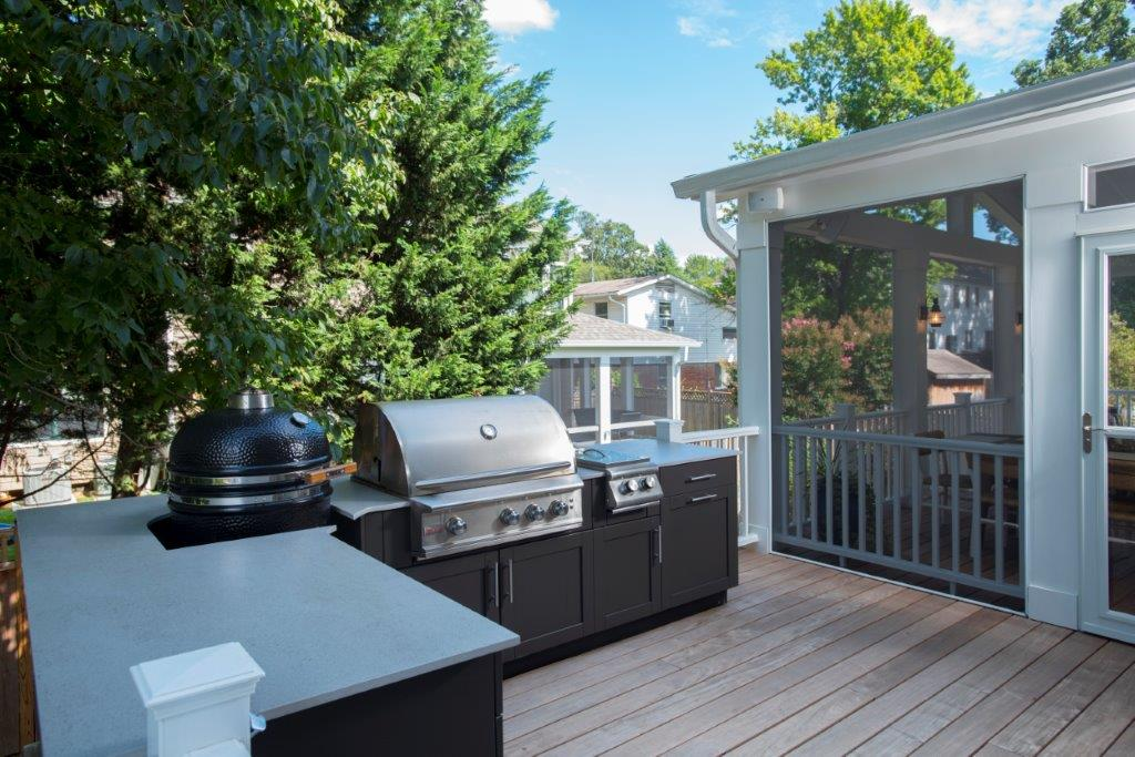 Danver outdoor kitchen in Maryland Virginia
